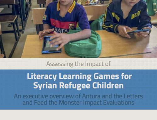 EduApp4Syria: Antura and the Letters and Feed the Monster Impact and Technical Evaluations